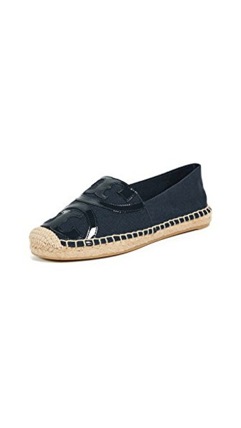 Tory Burch espadrilles navy shoes