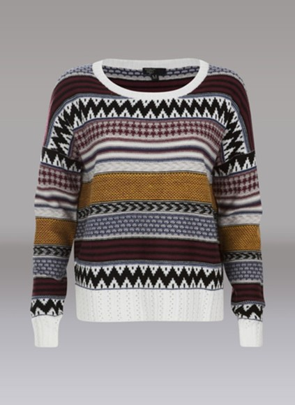 sweater cute winter sweater aztec cute sweater pattern crew neck white vintage vintage sweater pullover vintage pullover oversized sweater red wine hipster hipster sweater
