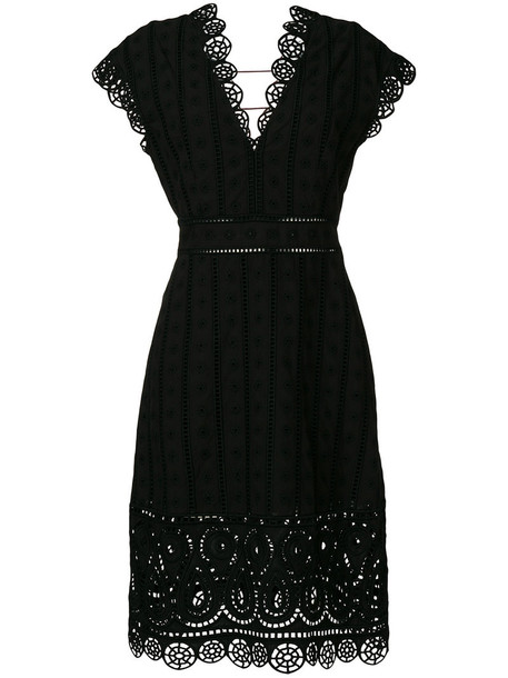 opening ceremony dress embroidered dress embroidered women cotton black