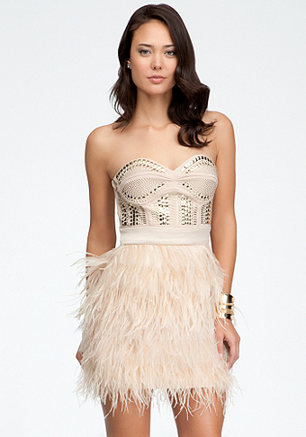 Bebe Fringe Dress