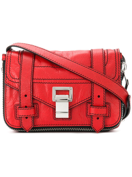 Proenza Schouler cross women bag red