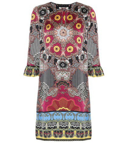 ETRO dress silk dress silk