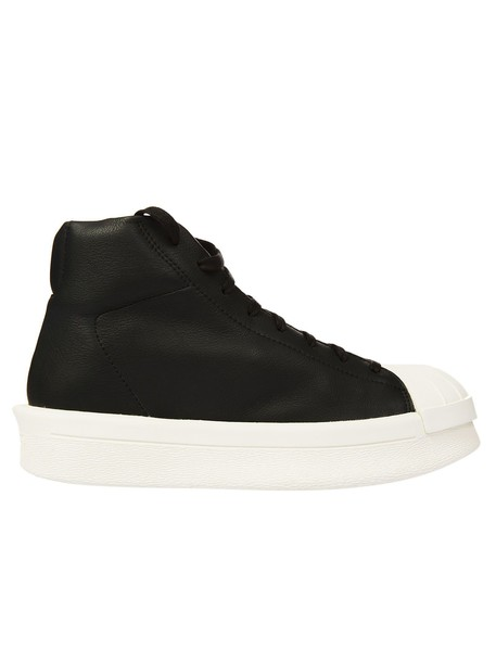 Rick Owens X Adidas sneakers lace milk black shoes