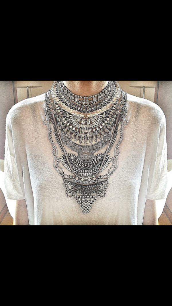 jewels necklace long necklace diamonds