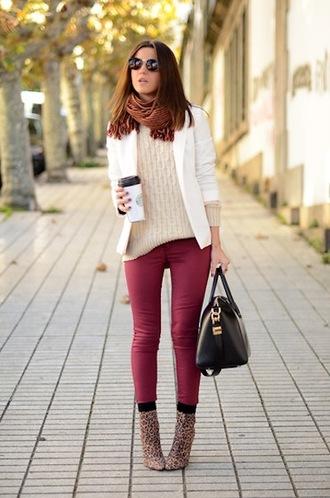 jacket black and white white blazer fashion blogger streetstyle what to wear lovely pepa
