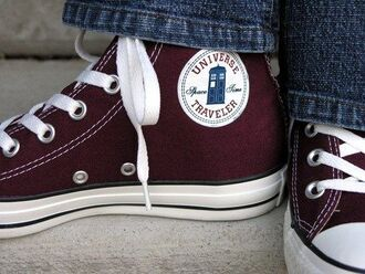 shoes doctor who bbc custom converse
