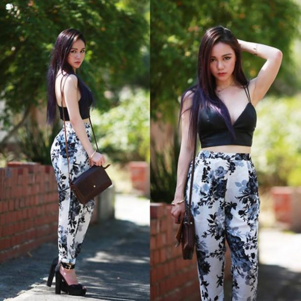pants floral pants