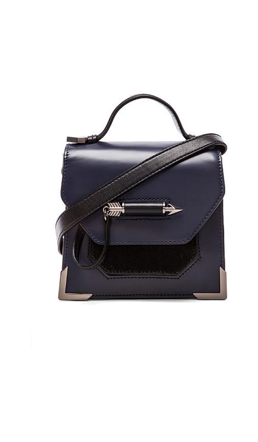 Mackage rubie mini satchel in indigo from revolveclothing.com