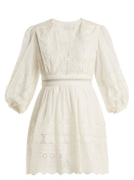 Zimmermann dress embroidered cotton