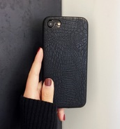 phone cover,girly,black,snake skin,snake print,iphone,iphone 6 case,i phone case