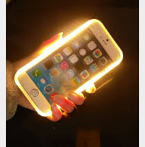 Phone cover: lightup, lumee, iphone, selfie - Wheretoget