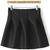 Black Flare Tiered Skirt - Sheinside.com