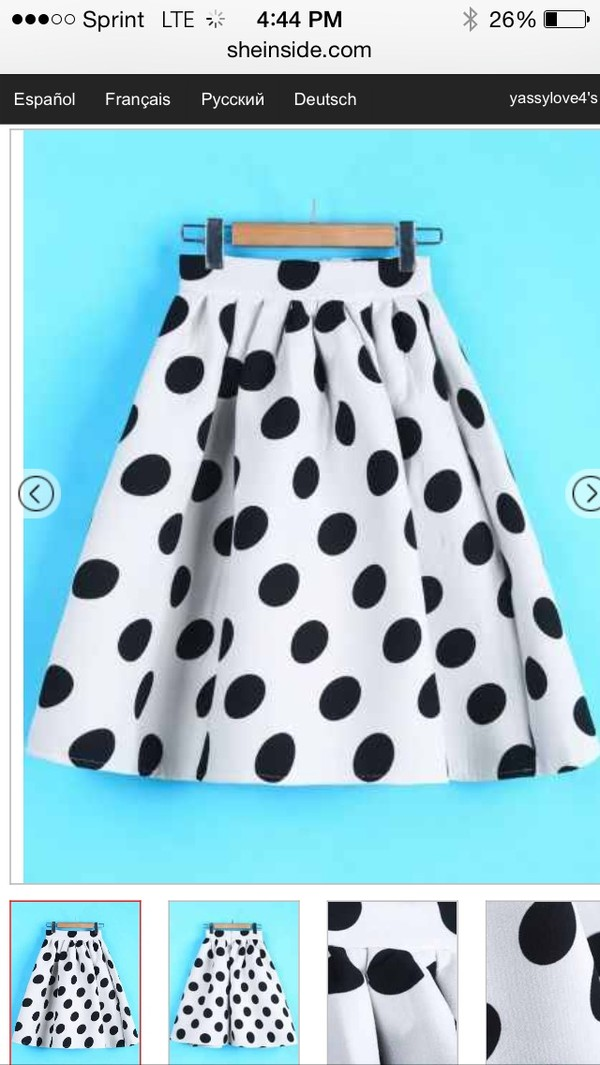 skirt polka dot skirt polka dots a line skirt flare skirt