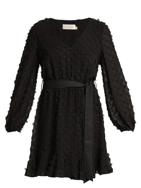 Zimmermann dress heart black