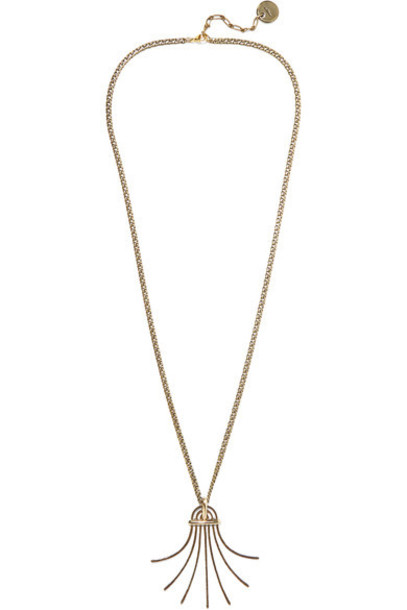 Lanvin - Elvira Gold-plated Necklace