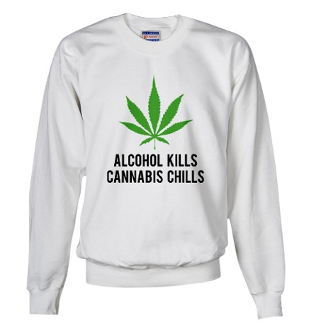 Cannabis Chills Sweater by FinestShirtsAndGifts