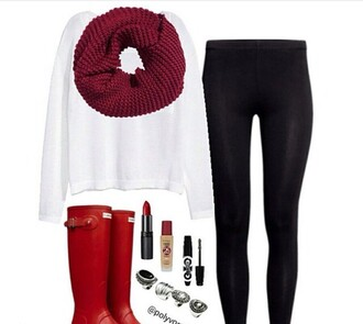 scarf red dark red knitwear knitted scarf fashion fall outfits winter outfits winter scarf fall scarves fall scarf