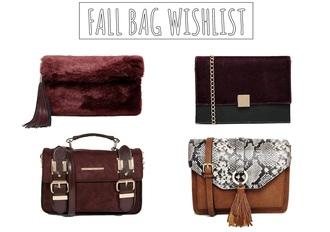 bag fall accessories pouch fluffy burgundy python bag satchel bag
