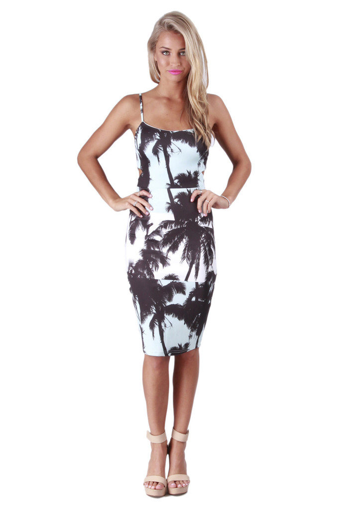 Palm Beach Midi Dress