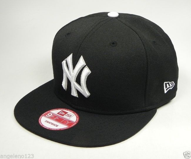 New era 9fifty cap mlb baseball team new york yankees snapback adjustable hat ny