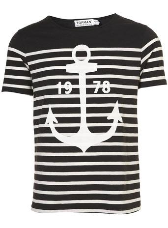 Black stripe anchor t