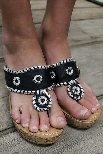 shoes black sandals wedges cork thong sandals silver metallic jack rogers style summer amazinglace.com amazing amazinglace greece