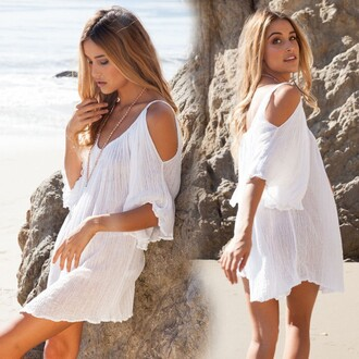 dress white dress white crop tops boho chic boho dress women t shirts beach dress beach dress heels nails summer dress beachy dress lace beach dress