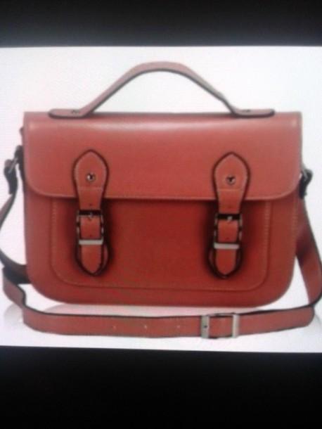 bag sac cartable ? bandouli?re marron