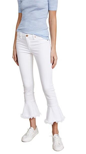 Blank Denim jeans flare jeans flare white