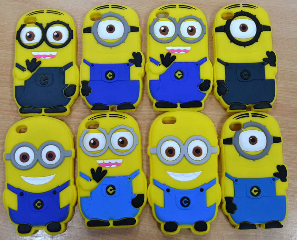 new arrival a16b0 ffa15 Despicable Me Minion 3D iPhone 4 4S Case Cover Protector New | eBay