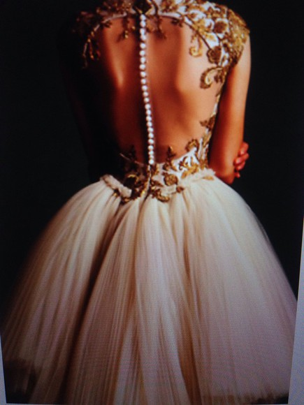 pearl lacy style dress short prom dress cream ivory design collar