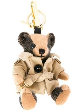 coat trench coat bear brown