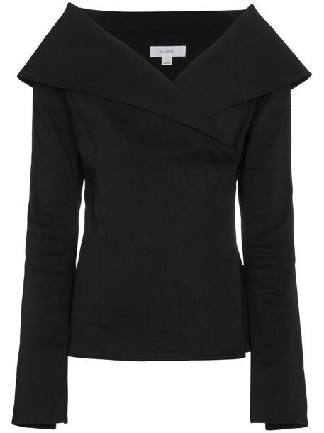 Beaufille jacket women spandex black