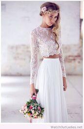 dress,boho bride,boho,boho dress,boho wedding dress
