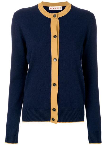MARNI blouse women blue top