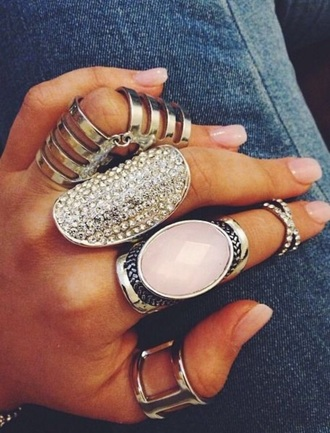 jewels boho boho jewelry statement ring knuckle ring ring silver silver ring