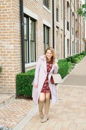 glitter&spice,blogger,dress,coat,shoes,bag