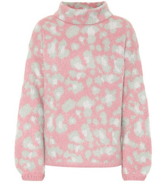 81hours Melissa mohair-blend sweater in pink