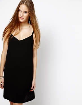 New Look   New Look Strappy Crepe Tunic at ASOS
