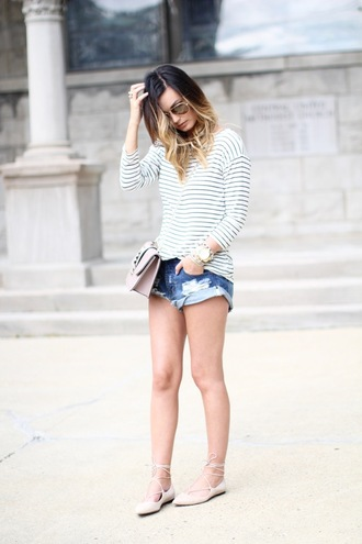 for all things lovely blogger shoes bag sunglasses jewels flat sandals beige shoes strappy flats