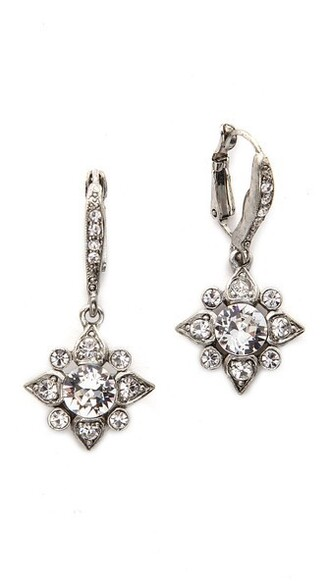 earrings silver jewels