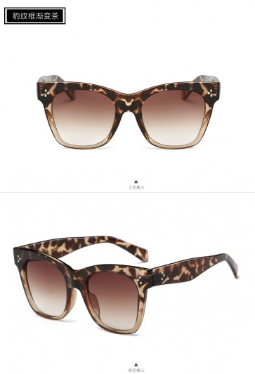 Cat Eyes Sunglasses Acetate Vintage Shades Smoke Lens