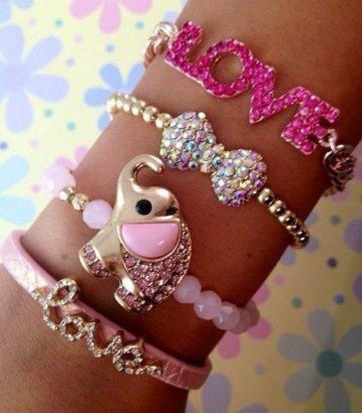 elephant jewels bracelets