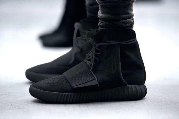 shoes yeezus yeezy boost tights yeezy boost 750 black sneakers high top sneakers adidas