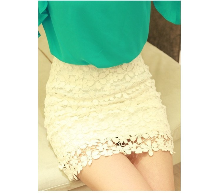 Retro flower high waisted lace short skirts from summerparadise on storenvy
