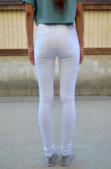 jeans white skinny jeans denim skinny pants white skinny jeans white denim white jeans