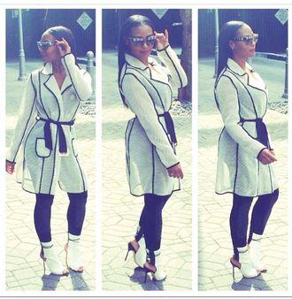 jacket mesh coat mesh trench coat white and black coat black jacket trench coat spring jacket white jacket