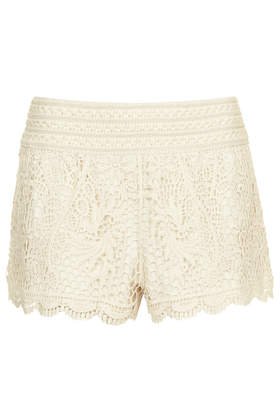 Crochet Shorts - Topshop