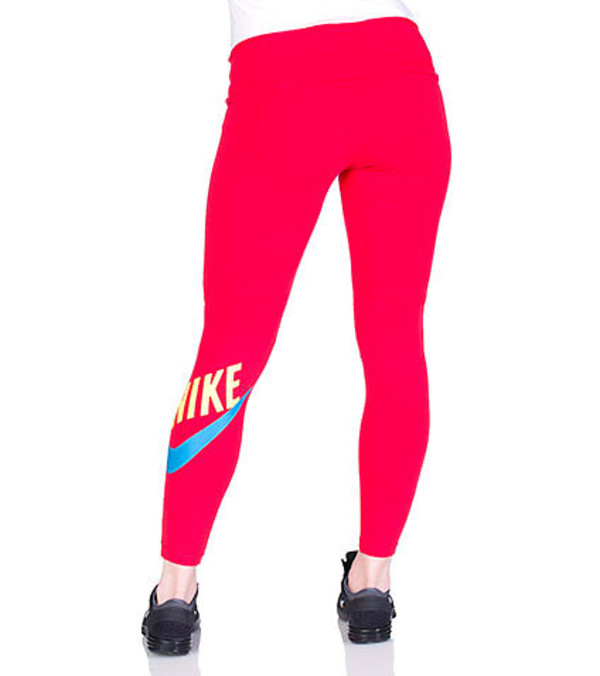 pants neon pink blue workout fitness leggings