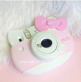 home accessory hello kitty camera polaroid camera nastygal